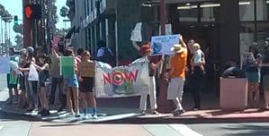Climate Change Demonstrators